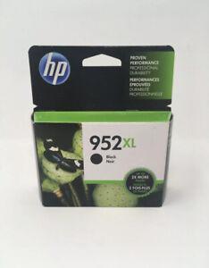 NEW Genuine HP 952XL Black Ink Cartridge, High Yield F6U19AN OEM Dec 2021