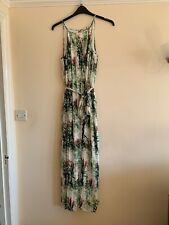 V by Very sustainable flower pleat maxi dress UK size 14 Brand New Without Tags