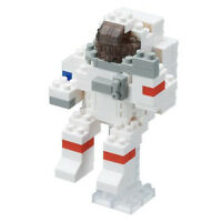NANOBLOCK Astronaut Nano Block Micro-Sized Building Blocks Nanoblocks NBC-198