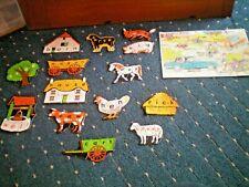 Vintage Childrens Jigsaw Puzzles.1960's.Vgc