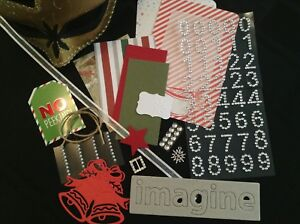 Collage Pack - Cardmaking & Scrapbooking - Christmas Themed