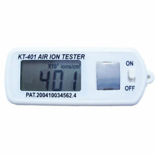 Mini air ion tester display high concentration of +/- air ion With Peak Hold