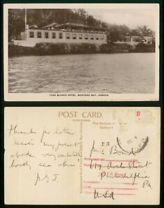 Mayfairstamps Jamaica Montego Bay Casa Blanca Hotel Real Photo Postcard wwp72787