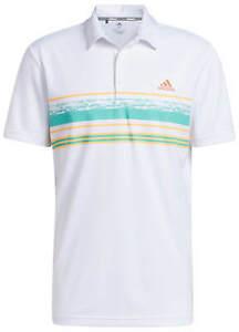 adidas Novelty Core Stripe Golf Polo Shirt Men's TM1931S21 New - Choose Color!