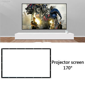 4:3 Projector Screen Projector Curtain Projection Screen Movies Foldable Indoor