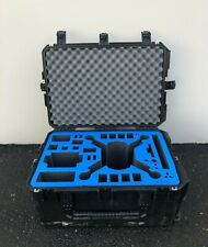 Skb Black Waterproof (Custom/Removable Drone Foam) Used Case with Wheels