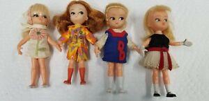 Lot Of Vintage Hasbro Dolly Darlings Dolls 60's