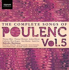 Thomas Allen - The Complete Songs of Francis Poulenc, Vol.5 [CD]