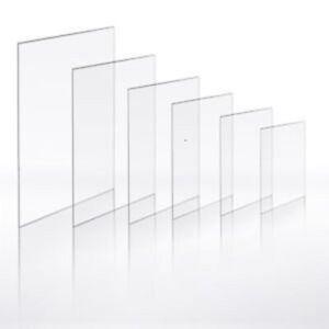 Acrylic Clear Perspex Sheet Plastic Panel Premium Quality Custom Cut to Sizes