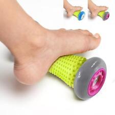 Self-massage muscle roller stick Plantar fasciitis Heel pain Foot arch Flat feet