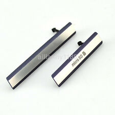 For Sony Xperia Z2 D6503 Micro SD + USB Sim Card Port Dust Plug Cover Cap 2Pcs u