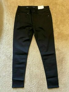 Miss Me Mid Super Skinny Black Pants womens Jeans size 29 NEW