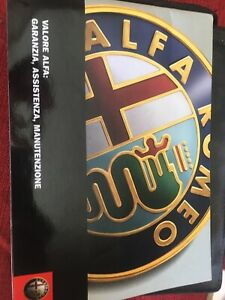 Libretto manuale istruzioni uso e manutenzione Alfa Romeo 159