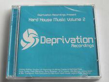 Hard House Music Volume 2 - Deprivation Recordings (2 x CD Album) New Sealed