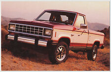1983 Ford Ranger 4x4 Pick-Up - Dealer Postcard