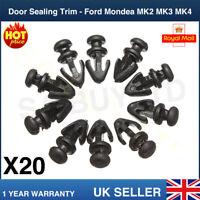 20 Door Gasket SILL Sealing Trim Fasten Clip Lower For Ford Mondeo MK2 MK3 MK4