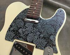 Pewter Paisley Custom Embossed Bakelite Pickguard fits Fender® Telecaster® style