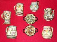 DENBY & LANGLEY VASES JUGS BOWLS MUGS TRAYS INCL SIGNED GLYN COLLEDGE - SELECT