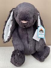 Jellycat Medium Bashful Dotty Spot Bunny Soft Toy Japan Black
