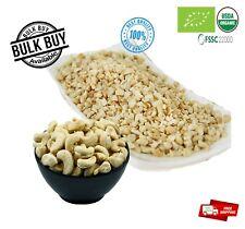 Organic Cashew Nuts whole dices 4-5mm cut Fresh taste Hand Picked Pure ceylon