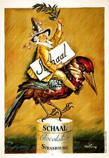 Print Schaal Chocolate Strasbourg  poster