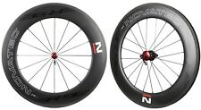 NOVATEC Road R9 Clincher Carbon Wheelset For SHIMANO SRAM CAMPY 8-11s 90mm