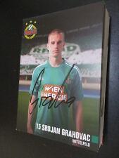 61044 Srdjan Grahovac Rapid Wien original signierte Autogrammkarte