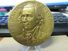 1927 NY State Gov. Founding Kingston 150th Medal / Charles Keck Bronze 63mm MACO