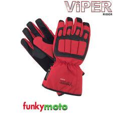 Gants rouge articulation pour motocyclette