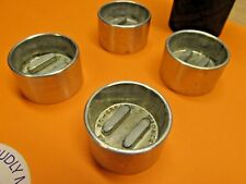 "1933 TO 1942 DODGE PLYMOUTH NEW SET OF 4 WHEEL CYLINDER PISTONS 1-1/8"" USA MADE"