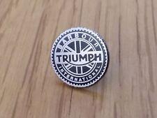 A Quality hard enamel  Barbour international triumph badge