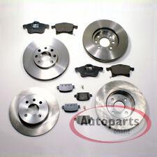 Opel Corsa E - Discos de Freno Frenos Zapatas de Freno para Delantero Trasero
