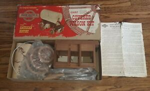 Wagon Masters Scale Models Giant Covered Wagon Kit Still packaged in Box w/Instr