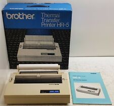 Brother Thermal Transfer Printer HR-5 [Boxed] Complete with Paper,Manual,etc. #2