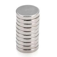 10 stück N50 15x3mm Starke Magneten Runde Größe Rare-Earth Neodym magnet