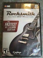 Rocksmith 2014 Edition DVD ROM, PC & MAC, 2 Discs, No Guitar Cable