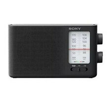 Sony ICF-19 AM/FM Radio LED Tuning indicator With Strap Brand New In Box