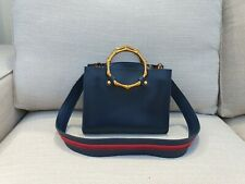 Laura Ashley Tisbury shoulder Bag and make-up pouch - blue - synthetic leather