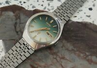 Vintage Seiko Elnix 0703 8040 JDM January 1976 JDM Kanji 36mm