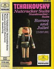 NUTCRACKER SUITE ROMEO JULIET LEITNER SANDERLING CASSETTE ALBUM DG PRIVILEGE