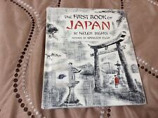 THE FIRST BOOK OF JAPAN by HELEN MEARS 1954 ex library book