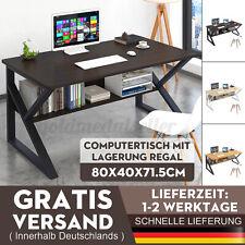 Schreibtisch PC Computertisch Bürotisch Arbeitstisch Büromöbel Lagerung Regal DE