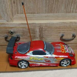 Mazda RX-7 Top Radio Control Car Red L32cm Without Battery Controller Vintage