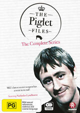 The Piglet Files The complete Series (DVD x 3) Brand New  Region Free