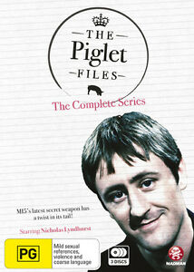 The Piglet Files The Complete Series (DVD, 2013, 3-Disc Set) Region Free