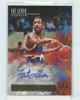 FAT LEVER 2018-19 Panini Court Kings High Court Signatures Auto #D /149