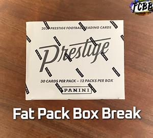 TAMPA BAY BUCCANEERS - 2021 Prestige Football Cello Fat Pack Box Live Break #4
