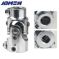 "3/4"" DD X 3/4""-36 Spline Nickel plated Universal Steering Shaft U Joint"