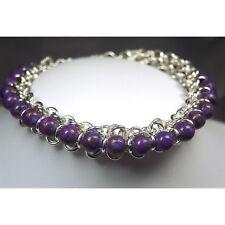 Chain Maille Sterling Silver Designer Bracelet