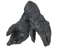 Dainese Veloce Gloves Black Leather Mens Motorbike Motorcycle Gloves SMALL